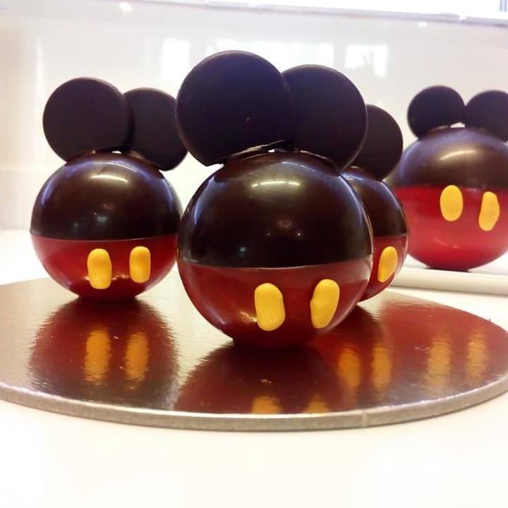 officina del dolce topolini di cioccolato